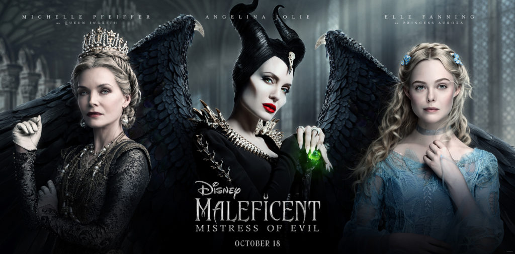 Disney Releases New Triptych Poster For MALEFICENT: MISTRESS
