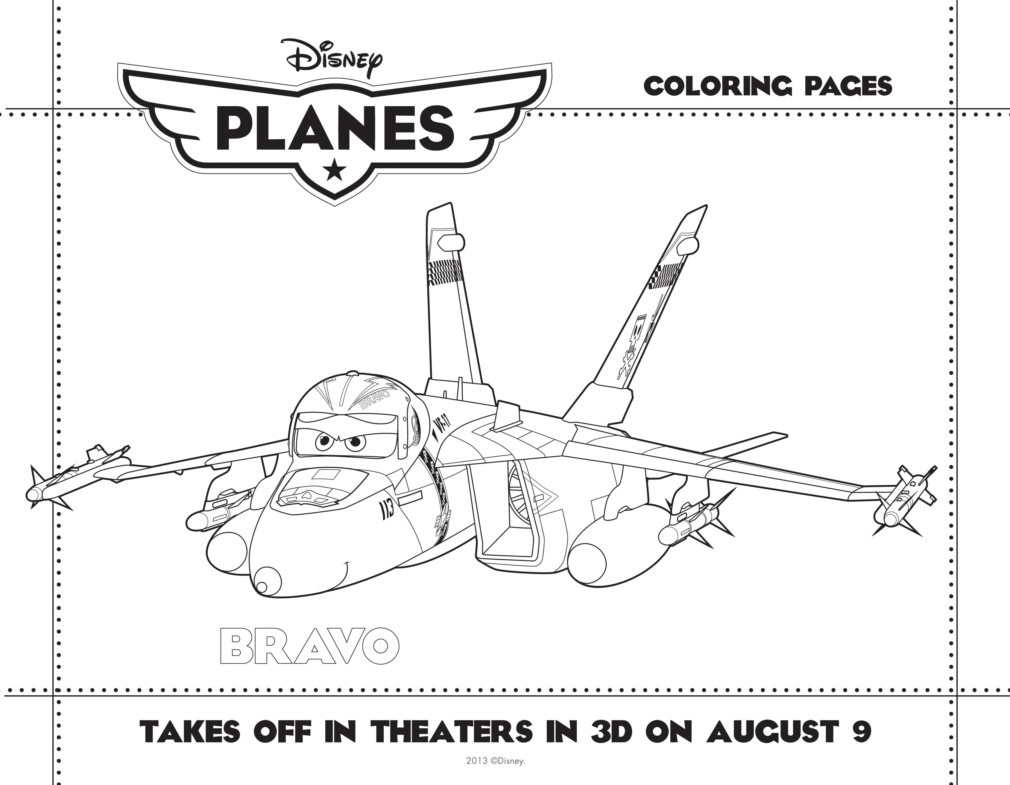 Planes Coloring 1 3 We Are Movie Geeks